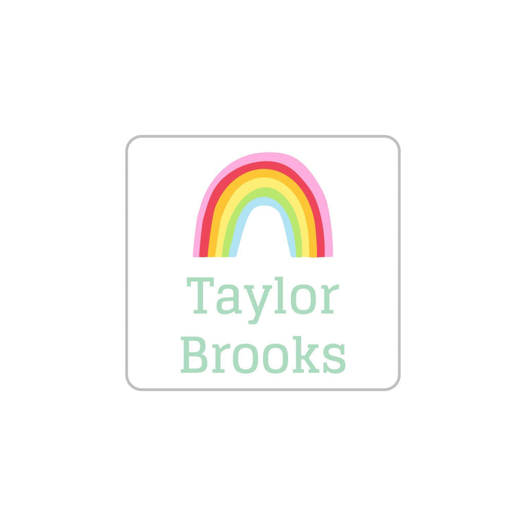 rainbow kids clothing labels