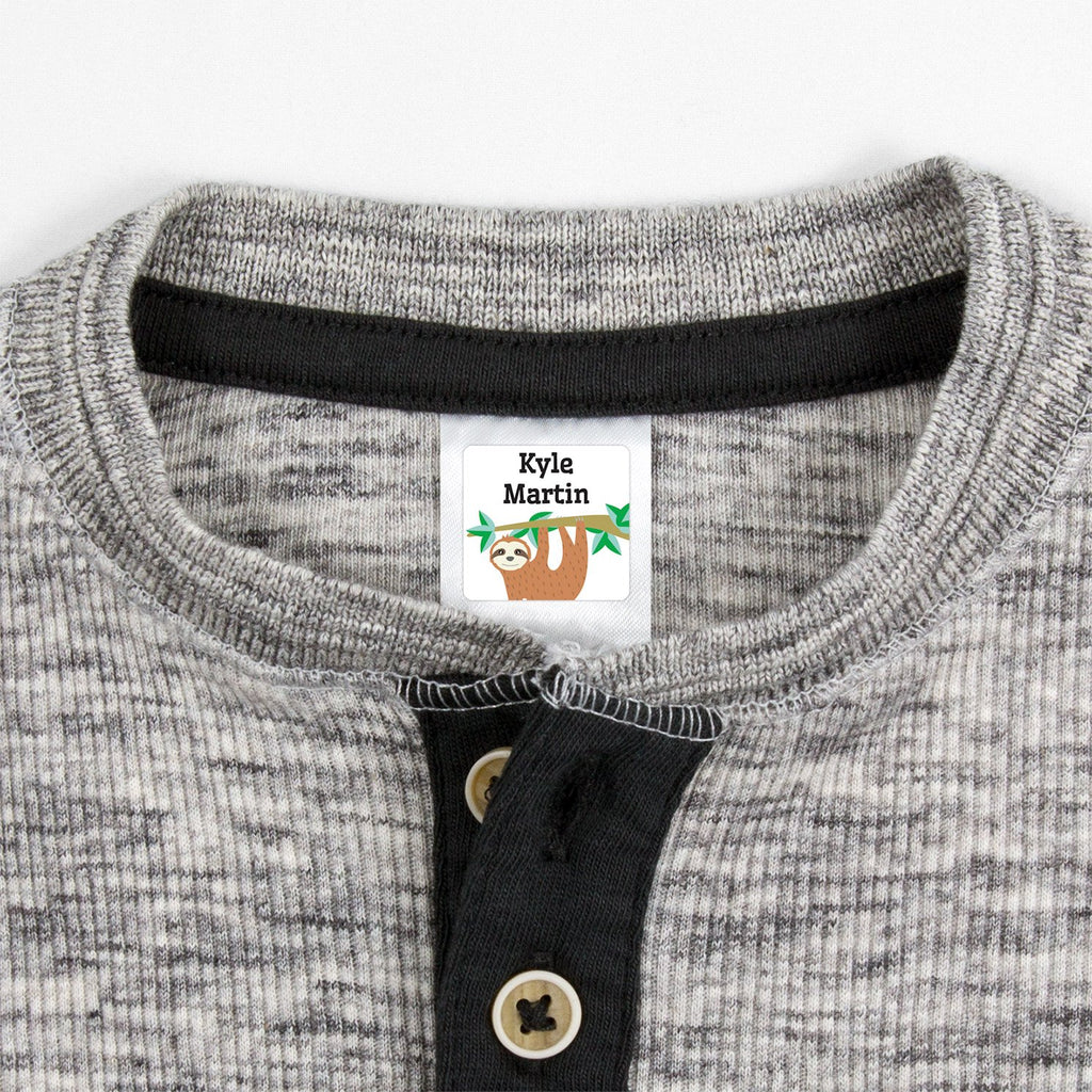clothing tags for kids - Square