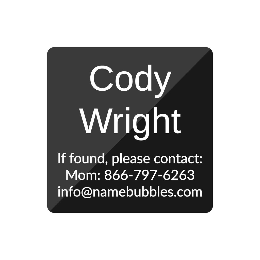 sleepaway camp name labels