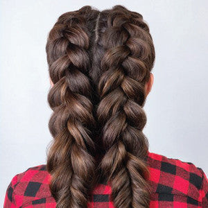 Double Fishtail Braid Christopher Stephens Salon