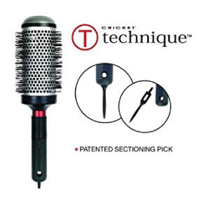 For the best hairbrushes ever try Technique Hairbrushes by Cricket