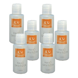 6 Pack Christopher Stephens Platinum Hand Sanitizer 3.4oz - Christopher Stephens Hair Salon West Palm Beach