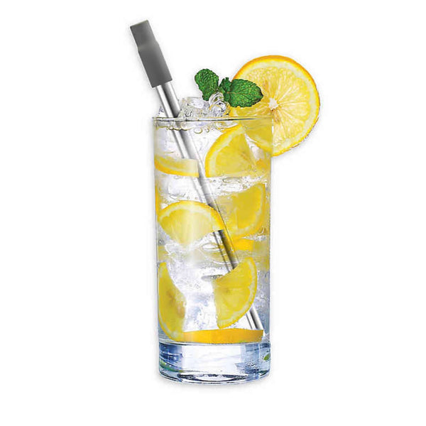 Christopher Stephens Reusable Stainless Steel Straw - Christopher Stephens Hair Salon West Palm Beach