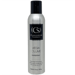 Christopher Stephens Platinum Mega Volume Hairspray 7.5oz - Christopher Stephens Hair Salon West Palm Beach