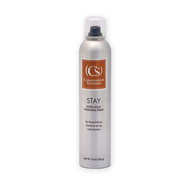Christopher Stephens Stay Extra Hold Spray 10oz - Christopher Stephens Hair Salon West Palm Beach