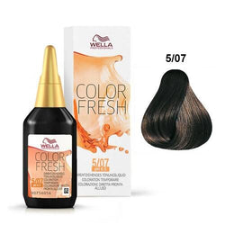 WELLA COLOR FRESH 5/07 MEDIUM BROWN/NATURAL BROWN - Christopher Stephens Hair Salon West Palm Beach