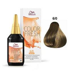 WELLA COLOR FRESH 6/0 DARK BLONDE / NATURAL - Christopher Stephens Hair Salon West Palm Beach