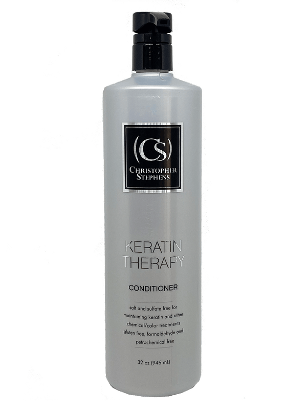 Christopher Stephens Platinum Keratin Therapy Conditioner Liter - Christopher Stephens Hair Salon West Palm Beach
