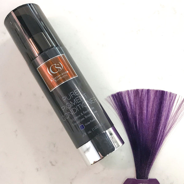 Christopher Stephens Pure Pigment Toning Conditioner 4oz - Christopher Stephens Hair Salon West Palm Beach