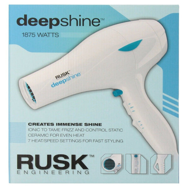 Rusk Deepshine 1875 Watt Hair Dryer - Christopher Stephens Hair Salon West Palm Beach