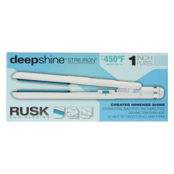 "Rusk 1"" Deepshine Professional Ceramic Str8 Iron - Christopher Stephens Hair Salon West Palm Beach"
