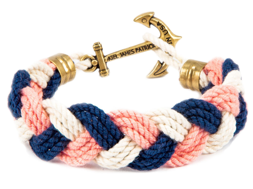 7f8c9f01584 Honey Fitz - Kiel James Patrick Anchor Bracelet Made in the USA