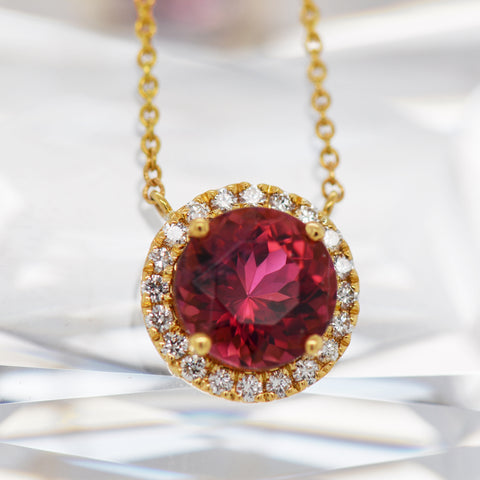 rhodolite garnet diamond necklace meaning portland jewelers