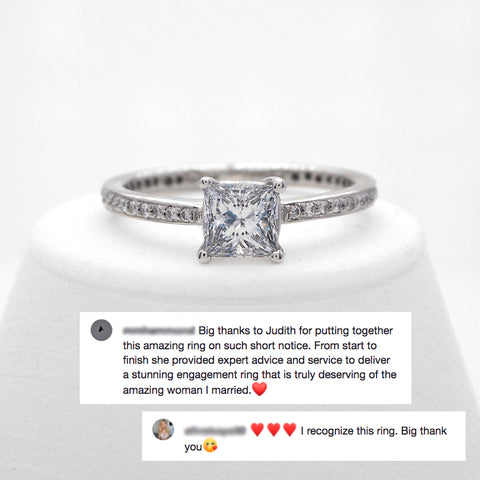 Flawless Diamond Custom Engagement Ring Review