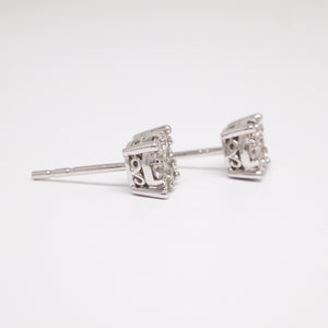 Custom Diamond Earring Studs