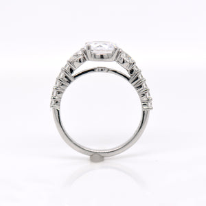 Platinum 3-Stone Diamond Engagement Ring