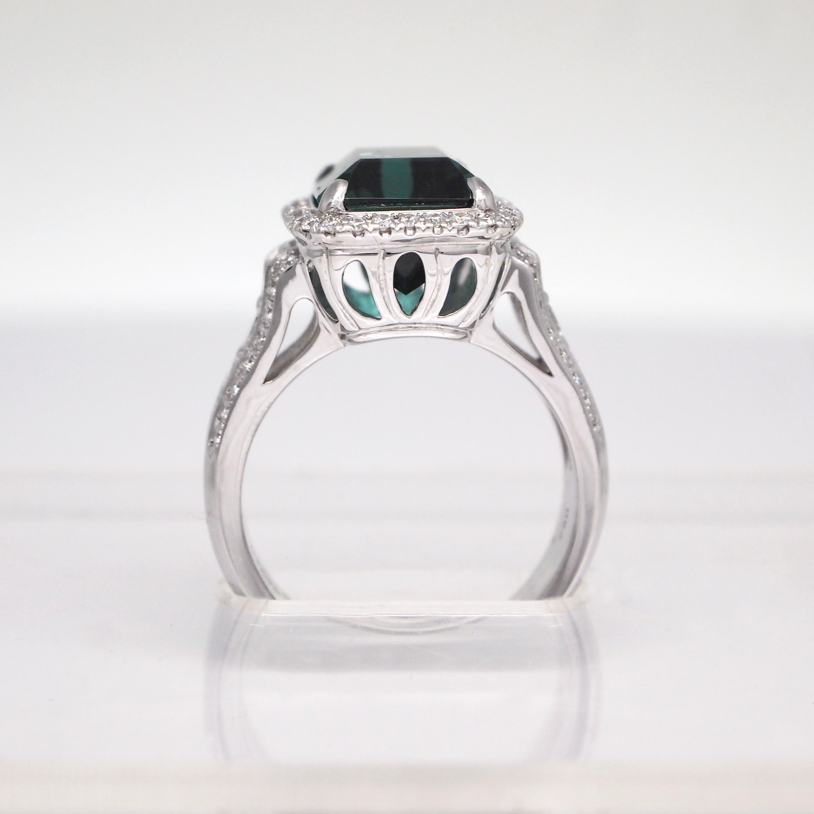 diamond ring blue raw gems the in of green products gardens with gold jewelry sun hidden silver