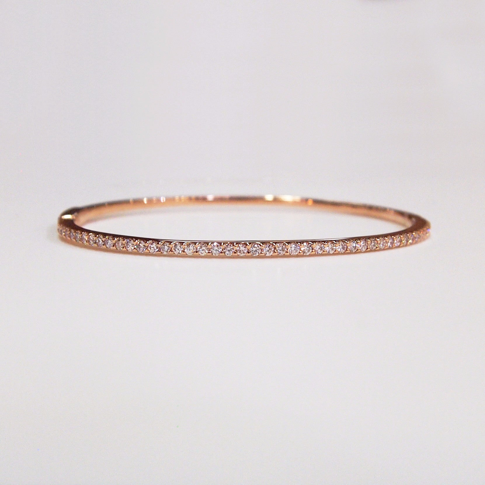 bangles bangle eve bracelet s cz rose plate set engravable gold plated channel
