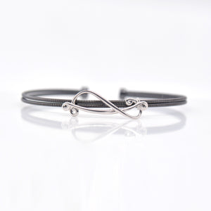 BeingTribal Sterling Silver Bangle