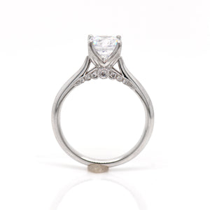 Platinum Diamond Solitaire Engagement Ring