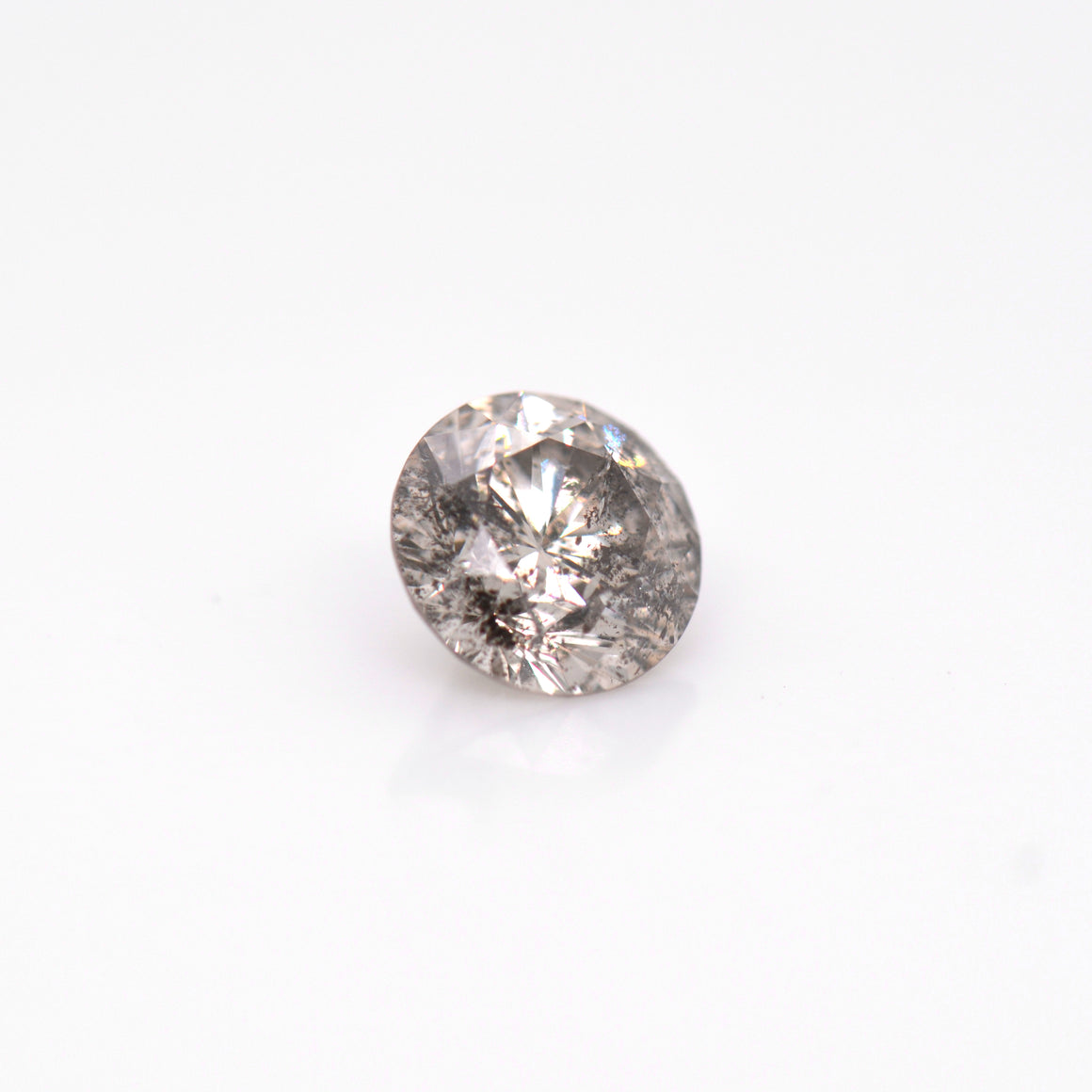 1.33 Carat Salt & Pepper Grey Diamond