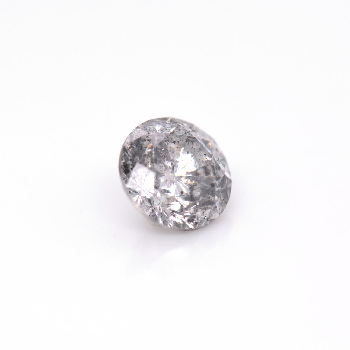 2.00 Carat Salt & Pepper Grey Diamond