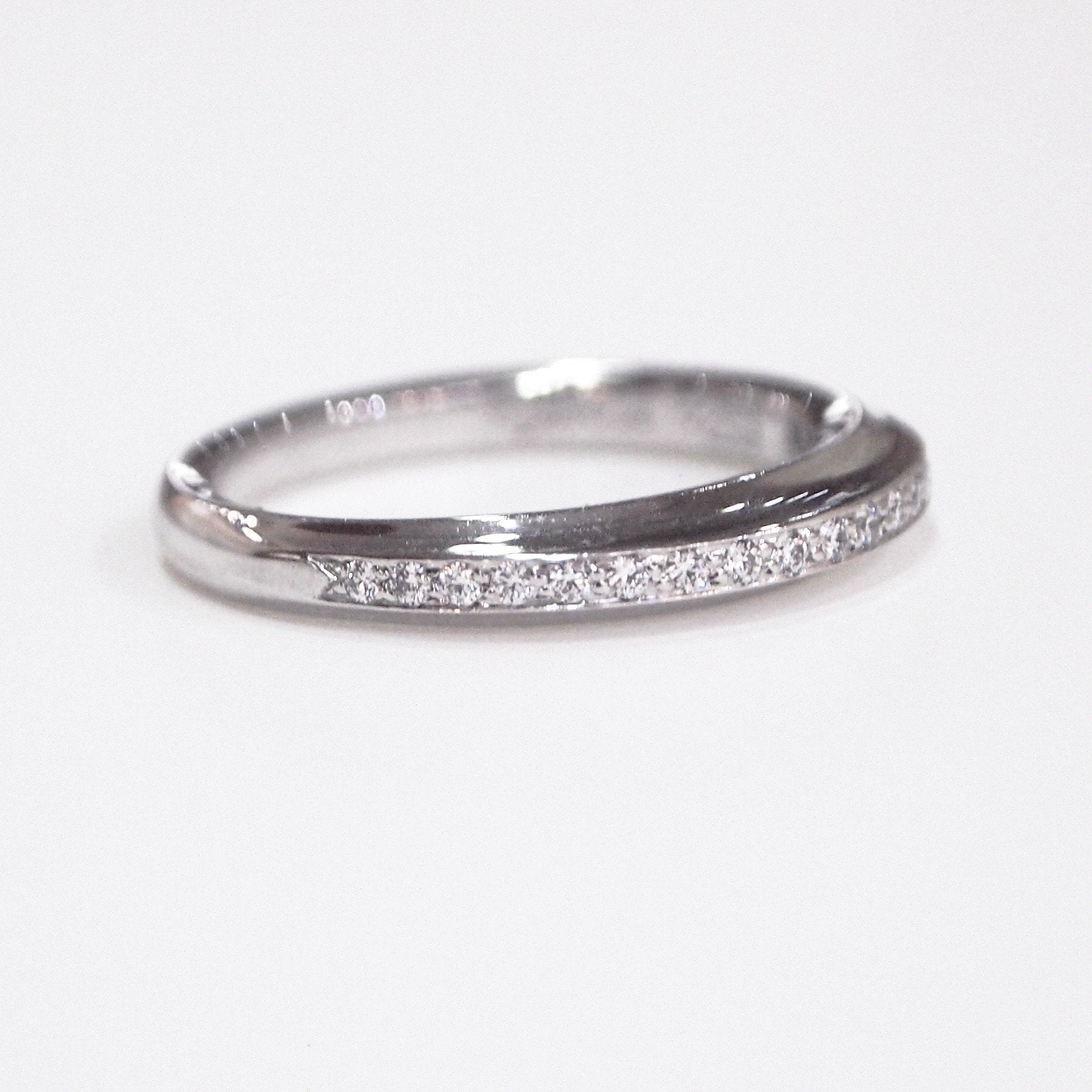 set full eternity wedding custom bands diamond band bezel product toronto jewellery