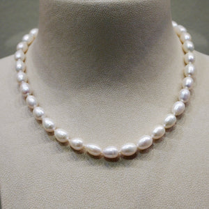 Baroque Freshwater Pearl Strand Necklace