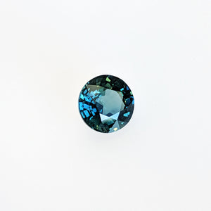 2.02 Carat Color Change Green to Blue Sapphire
