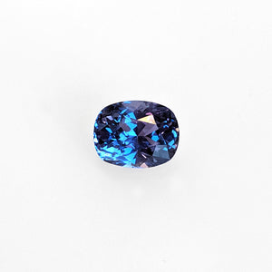 2.60 Carat Color Change Purple to Blue Sapphire
