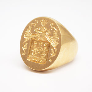 Custom Crafted Signet Ring