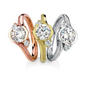 Maevona Lily Bridal Ring