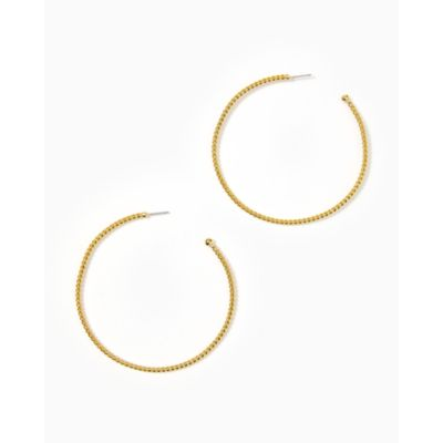 Island Hoop Earrings