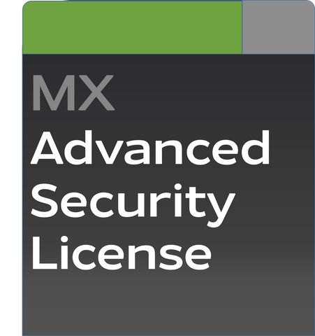 Meraki MX60 Advanced Security License and Support