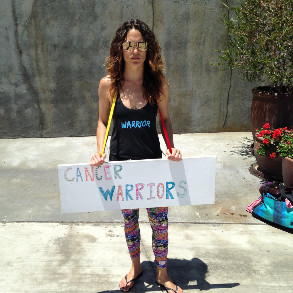 SURVIVOR TO WARRIOR // The story of Sara Krish and The Cancer Warrior Foundation