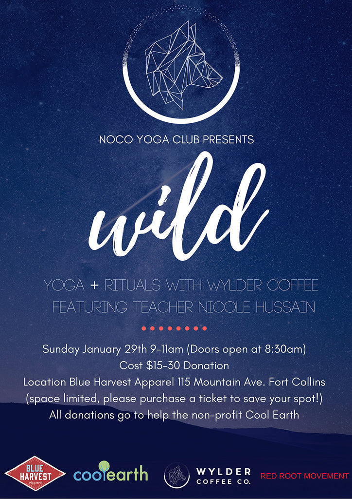 NOCO Yoga Club + WYLDER Coffee Co.