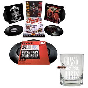 LPs & Bullet Whiskey Glass Bundle