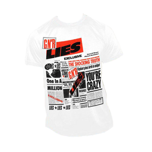 1989 Guns N' Roses Lies Album Tee