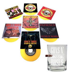 "7"" Singles & Bullet Whiskey Glass Bundle"
