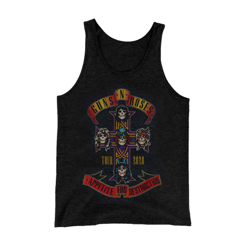 Appetite for Destruction Cross Tank Top