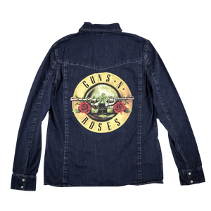 Bullet Logo Denim Shirt
