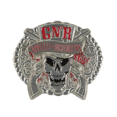 AFD Top Hat Skull Buckle