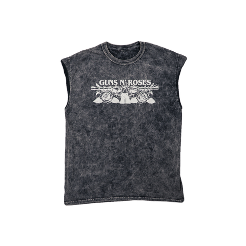 Black Washed GN'R Muscle Tank
