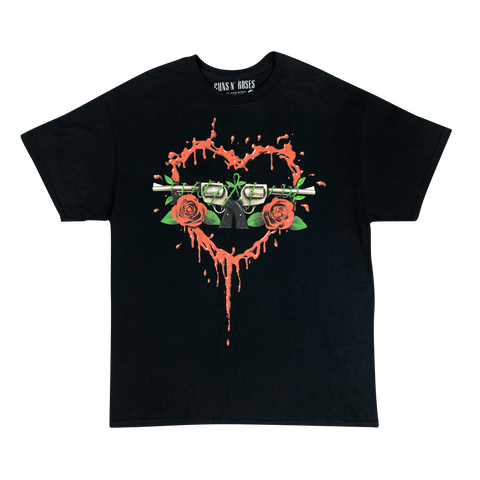 Bloody Bullet Heart T-Shirt