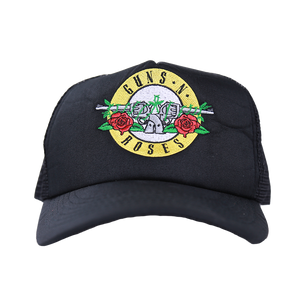 Bullet Black Trucker Hat