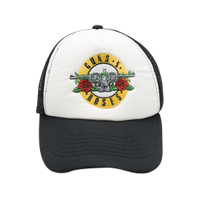Bullet White Trucker Hat