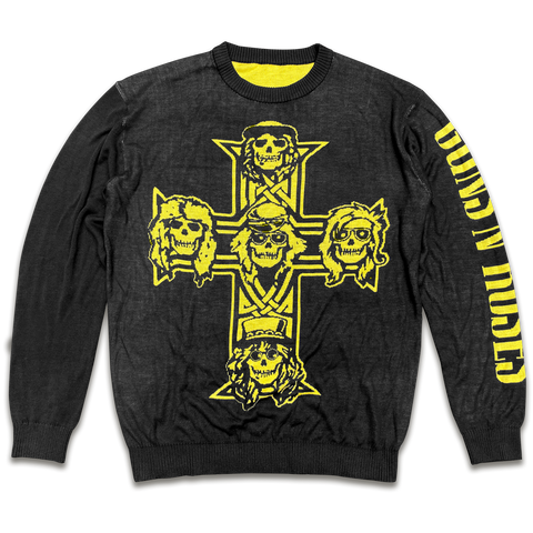Appetite For Destruction Cross Sweater