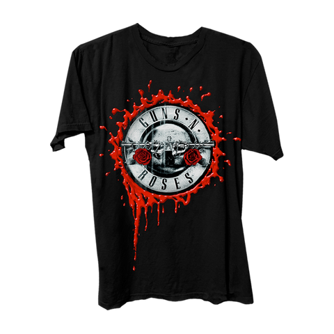 GN'R Bloody Bullet Black T-Shirt