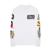 GN'R Hell Tour White Long Sleeve T-Shirt