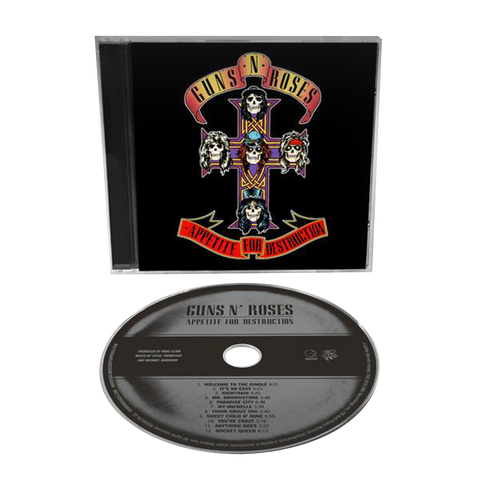 Appetite For Destruction 1CD Remaster